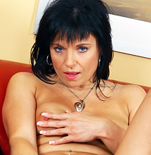 Brunette Mature With Firm Tits